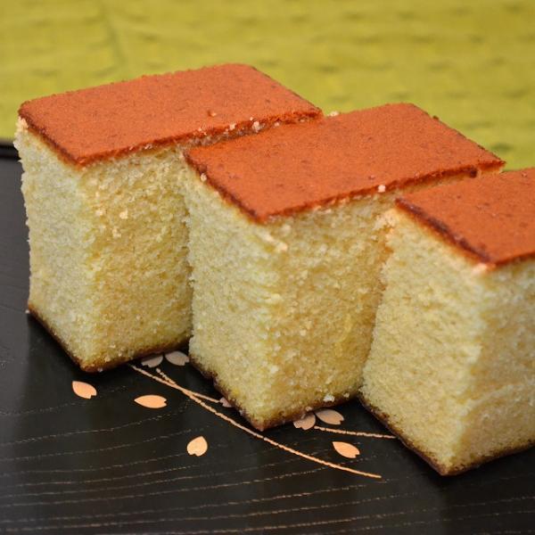 格安!長崎産かすてら プレーン3本 1kg   【送料無料】
