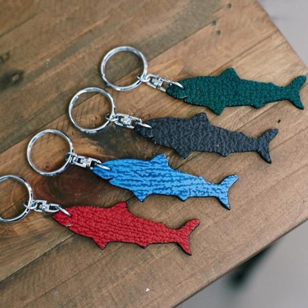 鮫革キーホルダー(2個)ネコポス|otr-ishinomaki|03