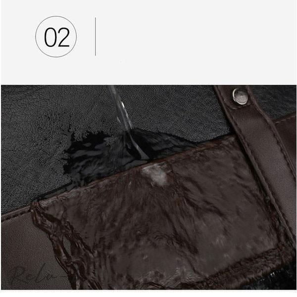 スクエアリュック メンズ レザー リュック レディース ビジネスリュック 防水 PC収納 革 通勤用 多機能 軽量 バッグ 撥水 旅行 通勤 通学バッグ 男女兼用 大容量 otto-shop 12