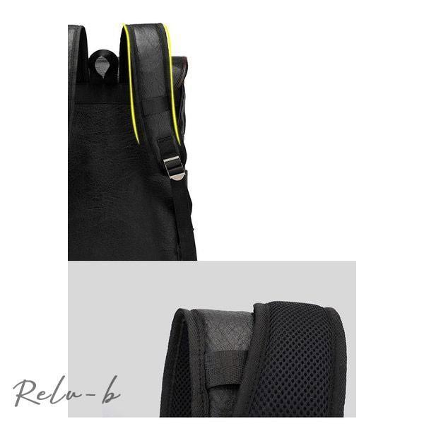 スクエアリュック メンズ レザー リュック レディース ビジネスリュック 防水 PC収納 革 通勤用 多機能 軽量 バッグ 撥水 旅行 通勤 通学バッグ 男女兼用 大容量 otto-shop 15
