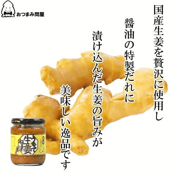 調味料 生姜 うまくて生姜ねぇ 240g x 1個 福島 ふくしま|otumamidonya|02