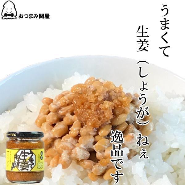 調味料 生姜 うまくて生姜ねぇ 240g x 1個 福島 ふくしま|otumamidonya|05