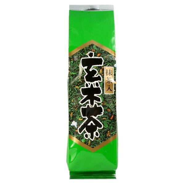抹茶入り玄米茶 みどり 黒豆入り 200g 抹茶 玄米茶 香り 高い お茶 ひしだい