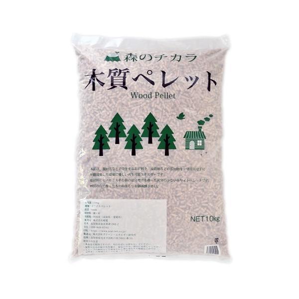 ウッドペレット 【離島・沖縄配送不可】燃料用ペレット/森のチカラ 木質ペレット 2袋