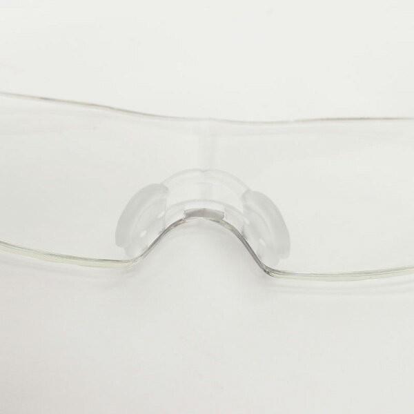 メガネ式ルーペ ブルーライトカット 拡大率1.6倍 メガネをしてても使える 専用ポーチ付 拡大鏡 ルーペメガネ 送料無料|oupace|03