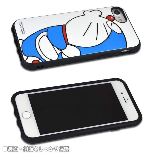 iPhone8/7/6s/6対応 ドラえもん(アップ) IIIIfi+(イーフィット) プロテクターケース 耐衝撃カバー アイフォンケース DR-42A oupace 03