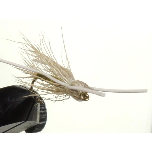 ドライフライ(dry fly) マダムーX #10 激安 フライフィッシング 渓流 完成フライ 管理釣り場