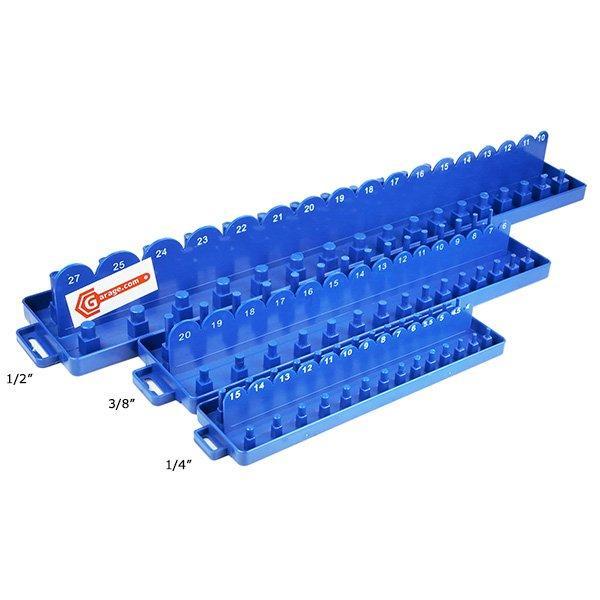 青色ソケットホルダー大中小3本セットODGT1-T074