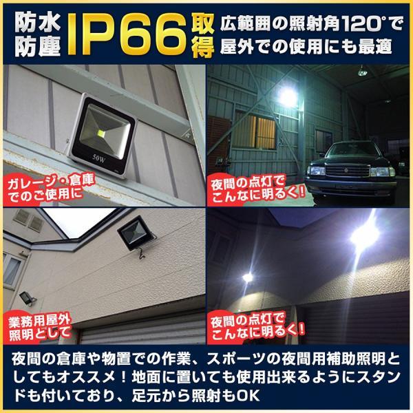 LED投光器 ノイズレス カーポート照明 ラジオ対応 IP66 看板灯 ガレージ照明 5個セット|outdoorgear|12