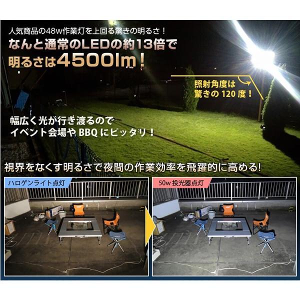 LED投光器 ノイズレス カーポート照明 ラジオ対応 IP66 看板灯 ガレージ照明 5個セット|outdoorgear|07