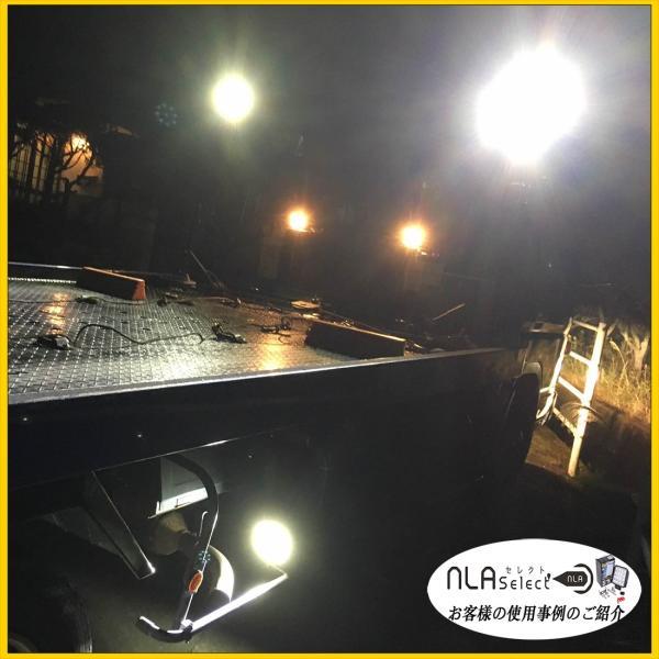 LED作業灯 27W 12V 24V対応 IP67 IP65 自動車用投光器 軽トラ トラック|outdoorgear|12