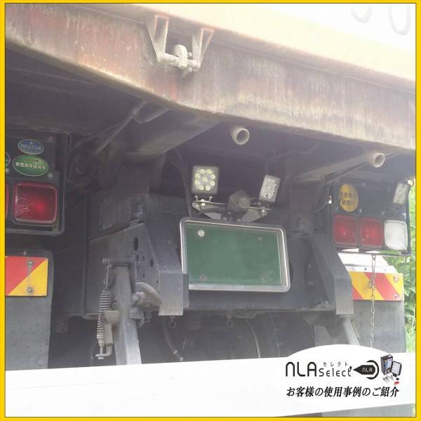 LED作業灯 27W 12V 24V対応 IP67 IP65 自動車用投光器 軽トラ トラック|outdoorgear|14