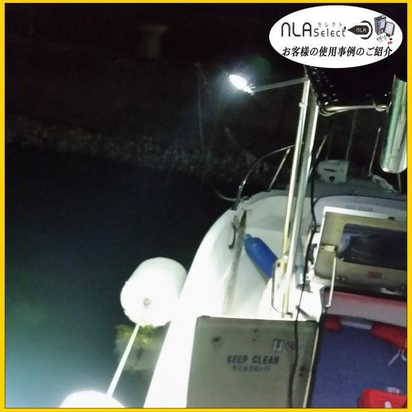 led作業灯48W 2個セット 船舶 集魚用投光器 12v 24v SUS316セット ノイズ対策済|outdoorgear|12