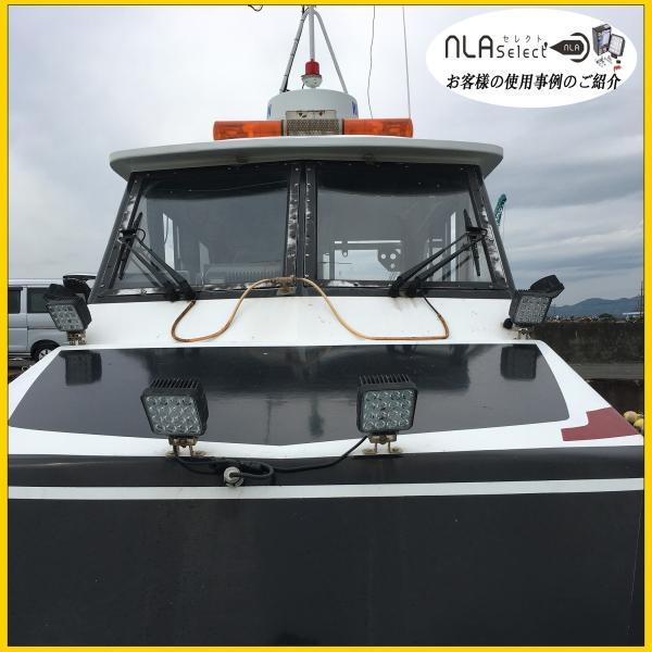 led作業灯48W 2個セット 船舶 集魚用投光器 12v 24v SUS316セット ノイズ対策済|outdoorgear|09