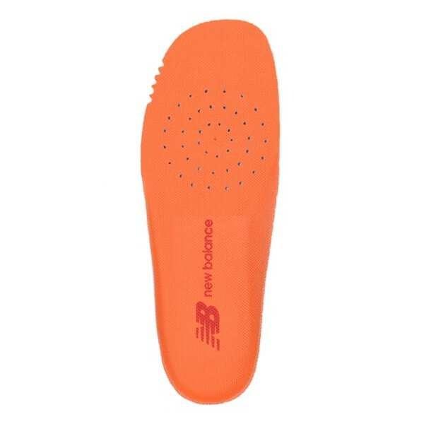 ニューバランスNEWBALANCEキッズカップインソール(両足組) サイズ:XS(14.0-16.0cm)  カラー:オレンジ