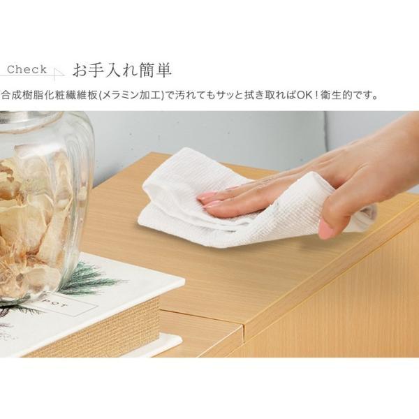 fam+/ファムプラス 薄型 トイレ収納 スリム スライド トイレラック outlet-f 11