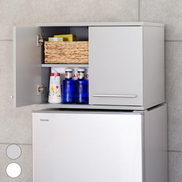 冷蔵庫上 収納ラック キッチン収納 ストッカー 収納棚 食器 調味料 調理器具 収納ボックス 代金引換不可