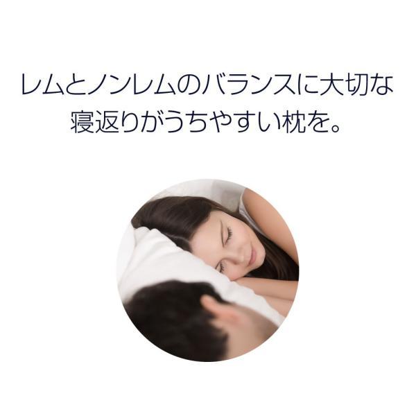 医師も納得の寝心地 快眠枕 スリープル メディキュアピロー 横向き 頚椎 ストレートネック サポート いびき 枕 まくら ラージサイズ 送料無料 outlet-f 04