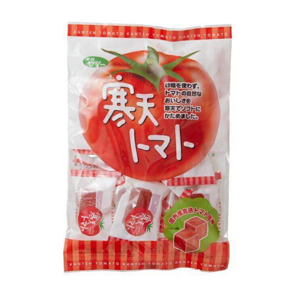 国産トマト使用 寒天トマトゼリー トマトペーストゼリー 砂糖不使用 常温保存 110g×6袋 送料無料