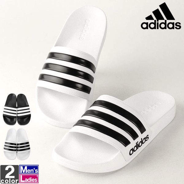 アディダス/adidas メンズ レディース サンダル CF アディレッタ AQ1701 AQ1702 AQ1703 1901 つっかけ スリッパ