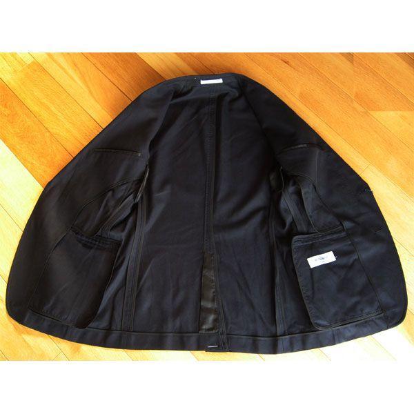 綿100% 2ボタンジャケット (濃紺)A4〜A7|outlet-kimura|03