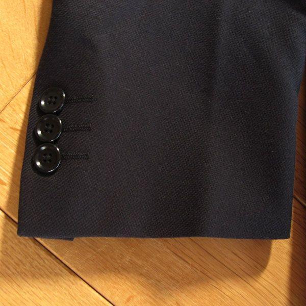 綿100% 2ボタンジャケット (濃紺)A4〜A7|outlet-kimura|05