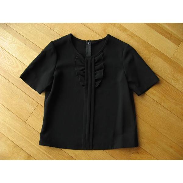 3点セットアップパンツスーツ  ( ブラックフォーマル ) 7号/9号/11号 #NBFS11SS2-3|outlet-kimura|04