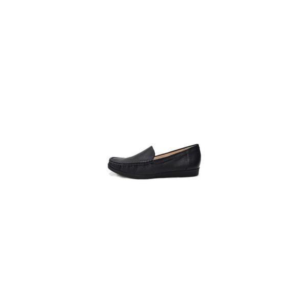 cavacava サヴァサヴァ ローファー モカシンシューズ 2820049 袋縫い モカシン レディース 靴  歩きやすい 痛くない 黒 ブラック サバサバ 送料無料