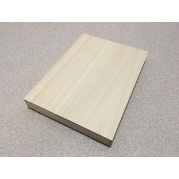 桐箱 A4用紙 小物入れ 書類 手紙 保管 桐収納 用紙 日本製 桐 収納ボックス|outlet-woodgoods|02