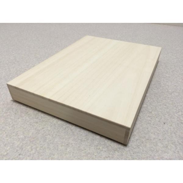桐箱 A4用紙 小物入れ 書類 手紙 保管 桐収納 用紙 日本製 桐 収納ボックス|outlet-woodgoods|03