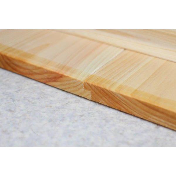 ひのき 風呂ふた 檜 桧 70×75cm 国産ひのき 日本製 木製 【サイズオーダー可能です!】 |outlet-woodgoods|04