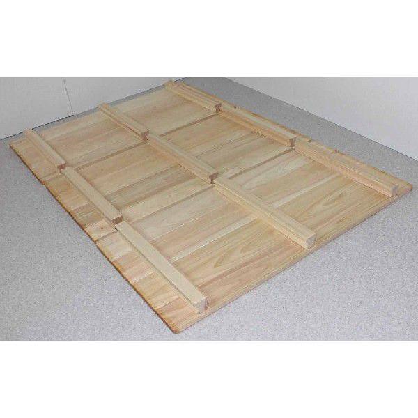 天然ひのき風呂ふた 幅70cm×長さ105cm 【サイズオーダーメイド承ります!】|outlet-woodgoods
