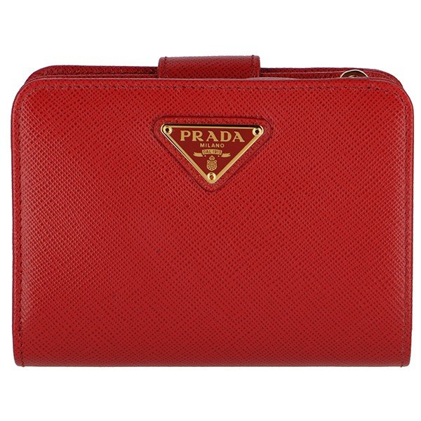 9af32bdb83e1 【訳あり】プラダ/PRADA 財布 ミニ財布 サフィアーノ 二つ折り財布 1ML018 QHH