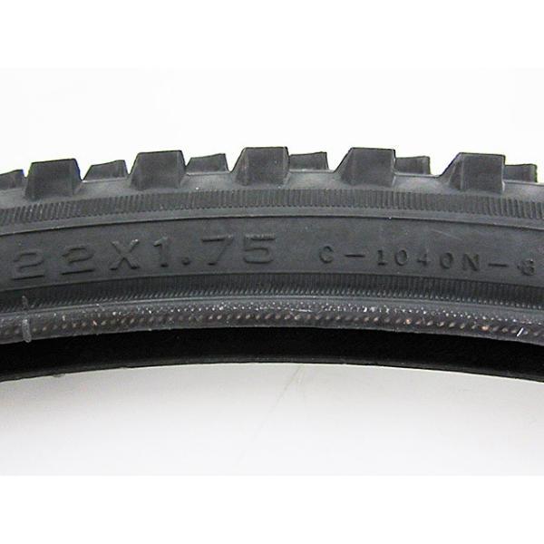 【アウトレット品】 ホダカ 自転車タイヤ 22インチ 子供車 CTB ジュニアMTB用 22×1.75 cy-020|outletconveni|03