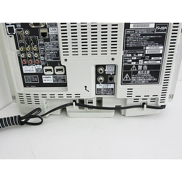 【スタンド無/簡易クリーニング】 Panasonic 17型液晶テレビ TH-L17X10PS (L17X1PS) 中古 j1705 tv-074|outletconveni|06