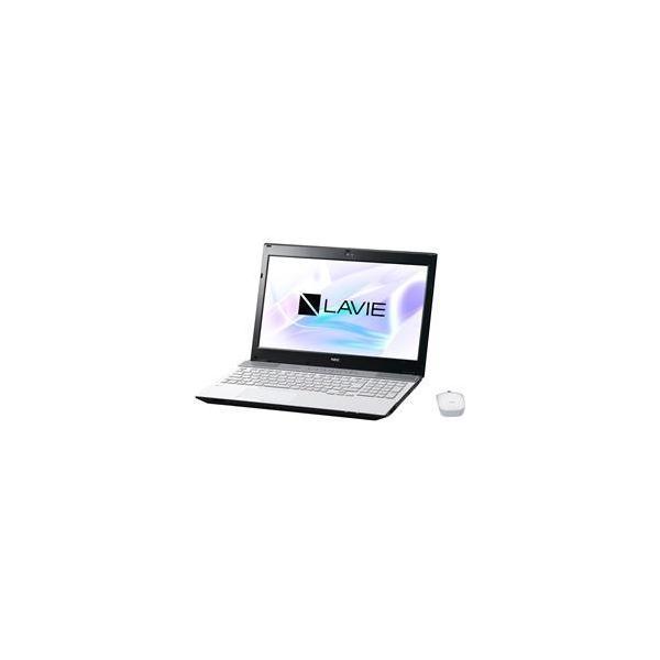 NEC PC-NS750HAW ノートパソコン LAVIE Note Standard クリスタルホワイト [15.6型 /intel Core i7 /HDD:1TB /メモリ:8GB /2017年7月モデル]の画像