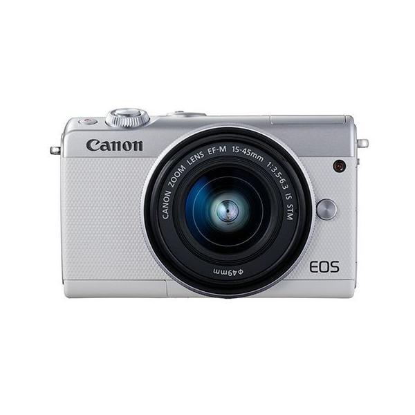 【新品/在庫あり】EOS M100 EF-M15-45 IS STM レンズキット ホワイト