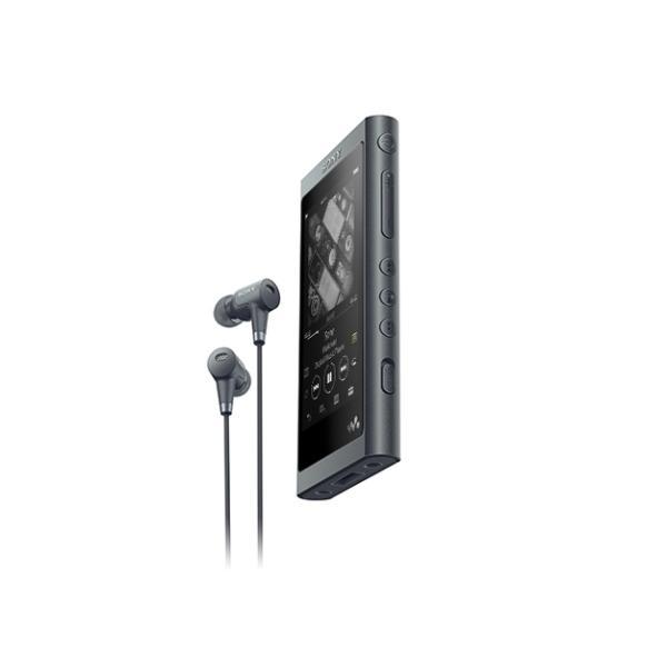 【新品/取寄品】ウォークマン Aシリーズ 16GB グレイッシュブラック(ヘッドホン同梱) NW-A55HN/B
