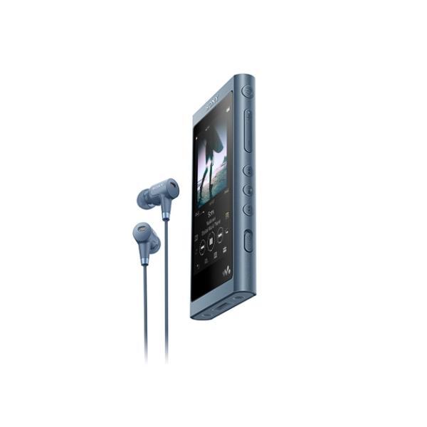 ソニー ポータブルオーディオプレイヤー Walkman ウォークマン イヤホン付属モデル NW-A55HN-L [16GB]の画像
