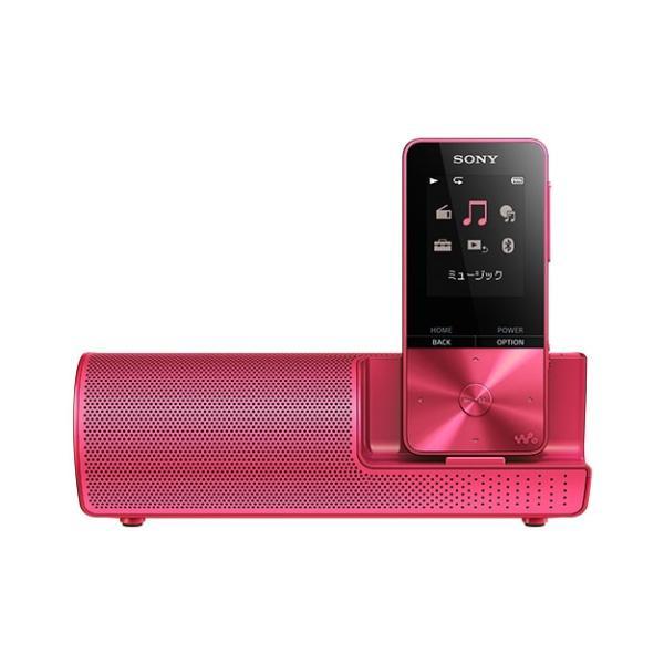 ソニー メモリープレーヤー NW-S315K P ビビッドピンク 容量:16GBの画像