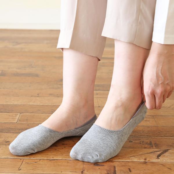 スニーカーソックス靴下レッグウェア伸縮性滑り止め付き浅履き深口