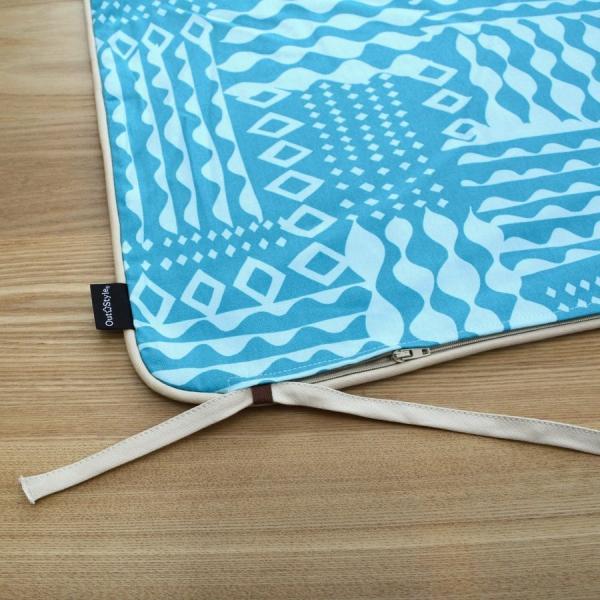 クッションカバー 45x45  北欧 おしゃれ かわいい 日本製 綿プリント チェック 幾何 フラッグ ハートリンゴ 花 ケイト コルネ メリダ outstylepro 11