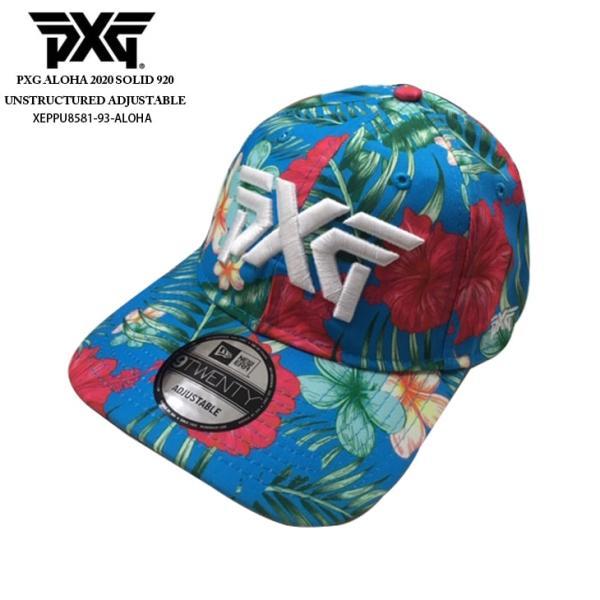 PXG/ピーエックスジー/2020_Aloha_Solid_Adjustable_Cap/キャップ/UHW52