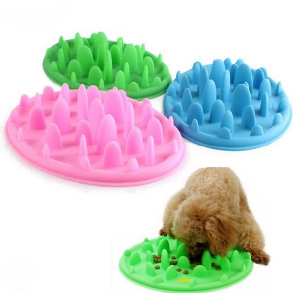 ペット 早食い 丸飲み 防止 フードボウル スローフード 防止 食器 犬 ペット用品 人気 ポイント消化|over-frag|04
