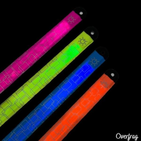 ランニング ジョギング LED アーム バンド リフレクター ライト 自転車 セーフティーライト 夜間 通勤 通学 散歩 LED 光る ライト ポイント消化|over-frag|05