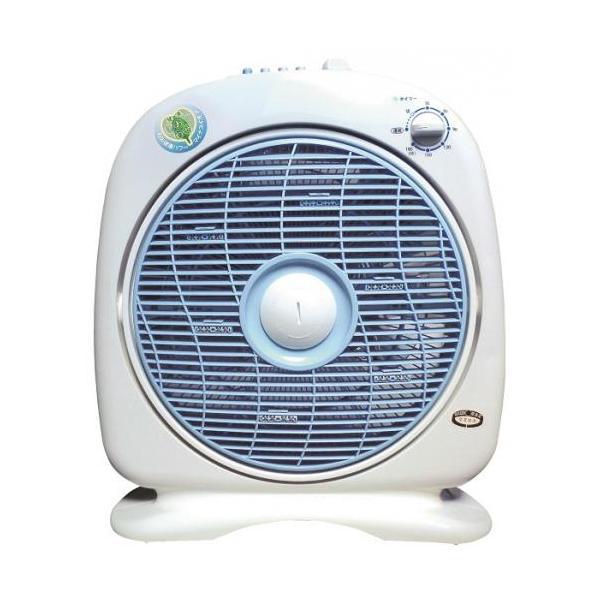 扇風機 小型  リビング 新林の滝 ホワイト お掃除サービス付き|owl-life