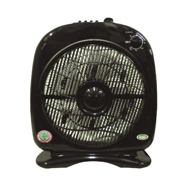 新林の滝 ブラック 扇風機  お掃除サービス付き|owl-life