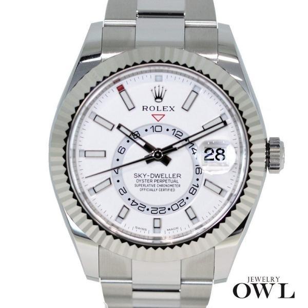 release date deadd 81b1f ロレックス ROLEX スカイドゥエラー 326934 ホワイト 【未使用品】 メンズ腕時計