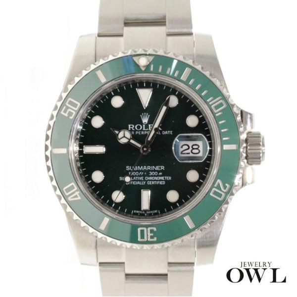 wholesale dealer 1f120 77ab1 ロレックス ROLEX サブマリーナ グリーン デイト 116610LV ランダム 中古品 メンズ 腕時計