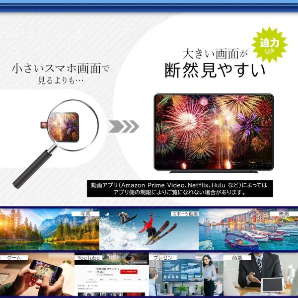 HDMI変換ケーブル iPhone iPadをテレビに接続 増税前スペシャルセール|owltech|02